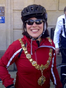All Action Mayor of Cambridge, Shelia Stuart