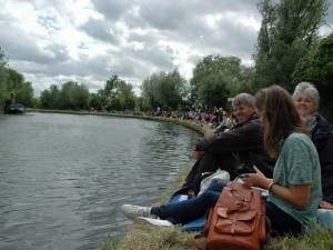 Spectators on the Bank